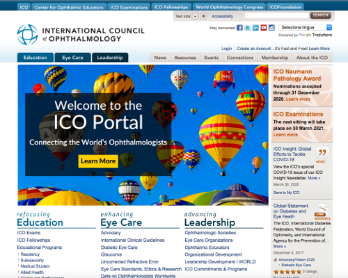 International Council of Ophthalmology